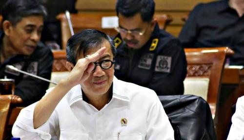Foto Akui Sel Novanto Besar, Menkumham Bantah Berikan Fasilitas