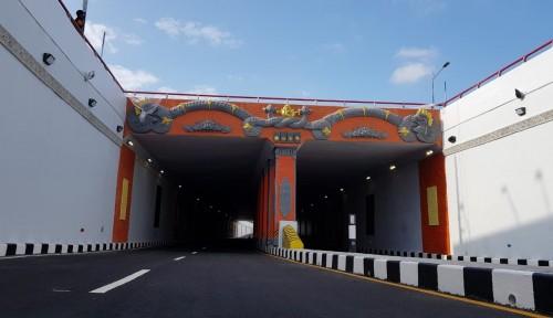 Foto Underpass Simpang Tugu Kurangi Kemacetan Denpasar