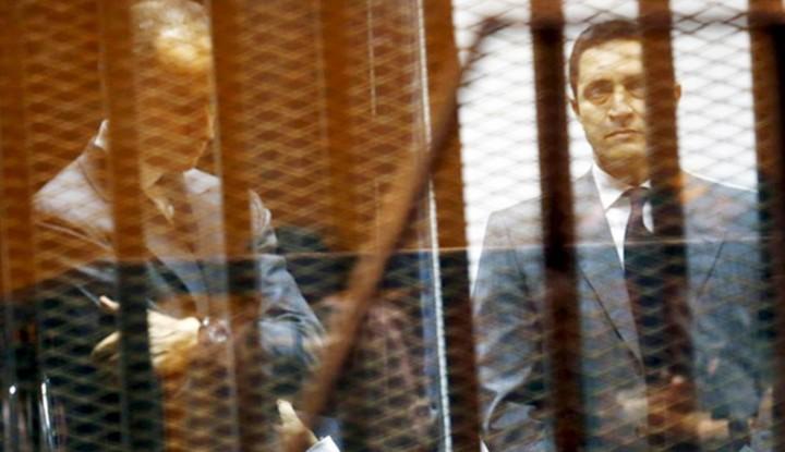 Foto Berita Dua Putera Mantan Presiden Mesir Ditangkap, Kasusnya 'Ngeri'