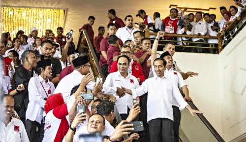 Foto Pilpres 2019, Tim Jokowi Waspadai Suara Perbatasan Jakarta