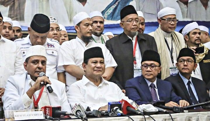 Foto Berita Ketika Guru Ngaji se-DKI Dukung Prabowo-Sandi