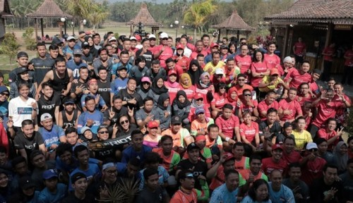 Foto Pelari Borobudur Marathon 2018 Dibekali Asuransi Generali