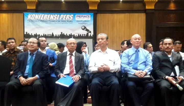 Foto Berita Makin Panas! 720 Advokat Siap Bela Rizal Ramli