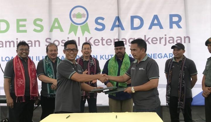 BPJS TK Kembali Resmikan Desa Sadar Jaminan Sosial Ketenagakerjaan - Warta Ekonomi
