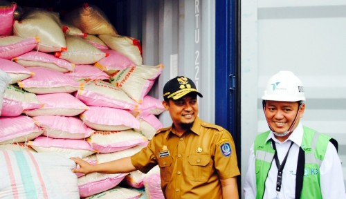 Foto Pelindo IV, ACT dan Pemprov Sulsel Kirim Bantuan Kemanusiaan untuk Lombok