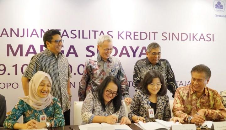 Foto Berita LMS Terima Pembiayaan Sindikasi untuk Biayai Pembangunan Airport Link