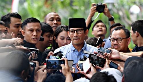 Foto Sandiaga Tolak Kepala Daerah Jadi Tim Kampanye