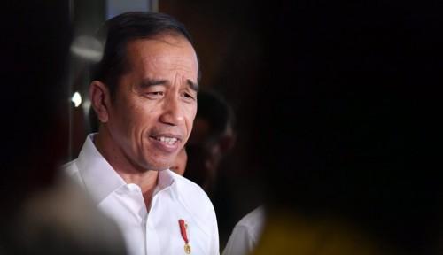 Foto Hadiri Ulang Tahun Emas Kadin, Jokowi Ketemu Sandi