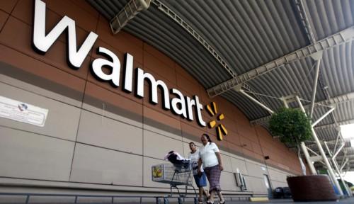 Foto Walmart Tambah 4 Mitra Pengiriman Bahan Makanan