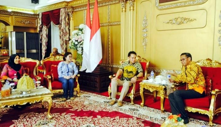 Foto Berita Pimpinan Vale Temui Gubernur dan Wagub Sulsel, Bahas Apa?