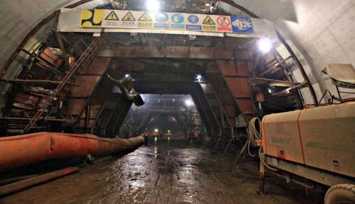 Foto Biaya Pembangunan Terowongan di Indonesia Dinilai Mahal