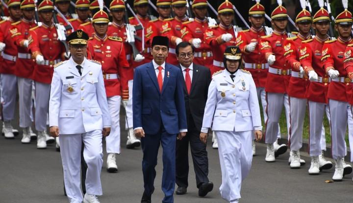 Foto Berita Pesan Jokowi ke Gubernur dan Wagub NTB Baru 'Mengharukan'