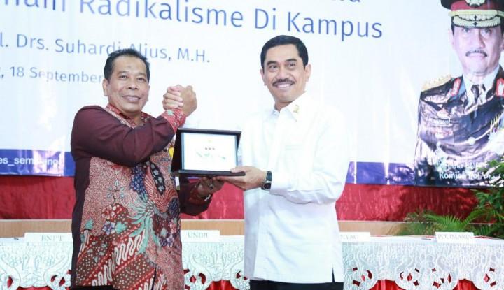 Foto Berita Cegah Paham Radikal di Kampus, 6 Perguruan Tinggi di Semarang Teken MoU Bersama BNPT