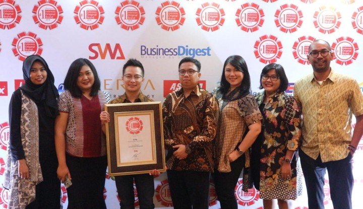 Erha Clinic Sabet Original Brand Award - Warta Ekonomi