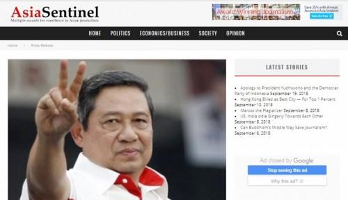 Foto Istri SBY 'Panas Dingin' Sikapi Berita Asia Sentinel, Coba Lihat