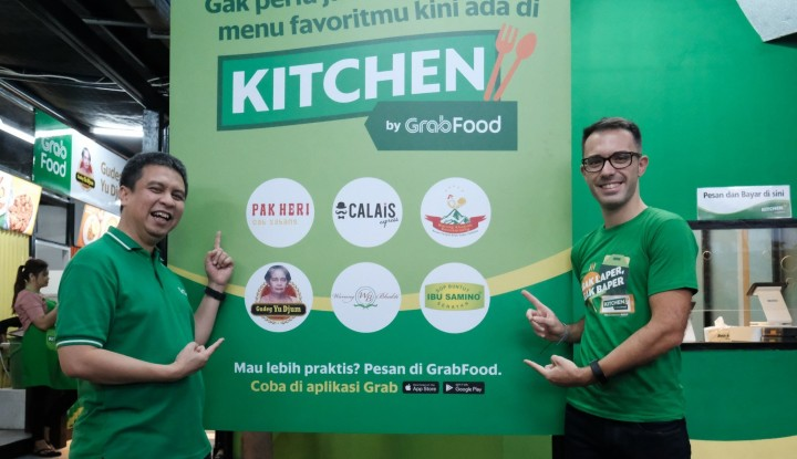 Foto Berita Kitchen by GrabFood Dukung Pengembangan Bisnis Merchant GrabFood