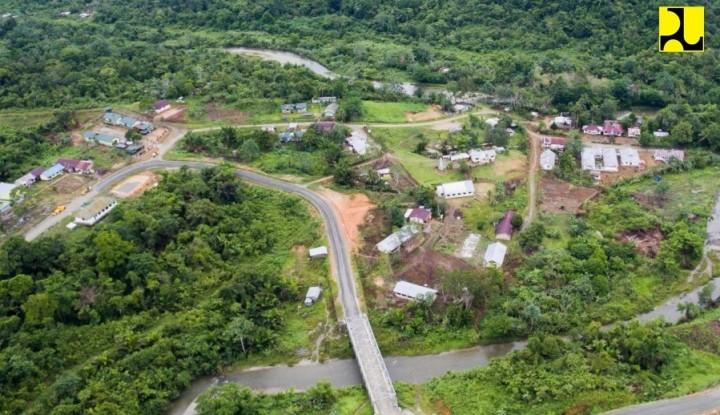 Pembangunan 3 Jalan Perbatasan Ini Dilanjutkan Hingga Tahun Depan - Warta Ekonomi