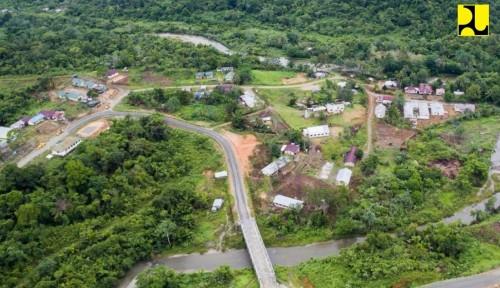 Foto Pembangunan 3 Jalan Perbatasan Ini Dilanjutkan Hingga Tahun Depan