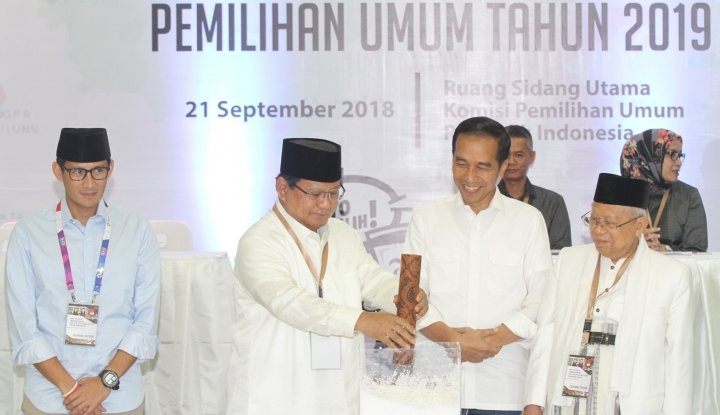 Foto Berita Ada Tim Bravo 5 di Pemenangan Jokowi-Ma'ruf, Kubu Prabowo-Sandiaga Bentuk Tandingan