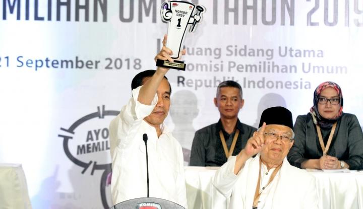 Perolehan Suara Jokowi-Ma'ruf di Surabaya Masih di Bawah Target - Warta Ekonomi