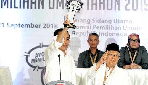 Foto Ini Pakaian yang Akan Dikenakan Jokowi-Ma'ruf dalam Debat Perdana