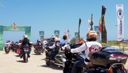 Foto Askrindo Beri Perlindungan Personal Accident pada 1.000 Bikers