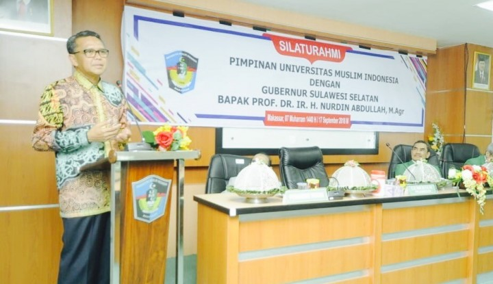 Foto Berita Percepatan Pembangunan Sulsel, Gubernur Gandeng Perguruan Tinggi