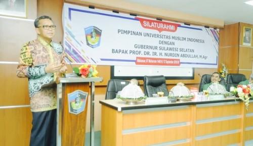 Foto Percepatan Pembangunan Sulsel, Gubernur Gandeng Perguruan Tinggi