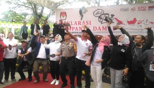 Foto KPU Sumsel Gelar Deklarasi Kampanye Damai Pemilu 2019