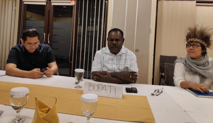 Foto Berita Pasca KLB Campak dan Gizi Buruk Tahun Lalu, Ini Kondisi Terbaru di Asmat Papua