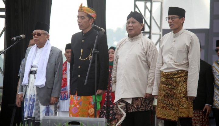 Hasil Survei Indometrik: Jokowi Sangat Bisa Dikejar, Selisih Cuma 3 Persen - Warta Ekonomi