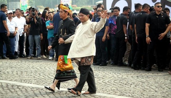 Foto Berita Prabowo Sulit Menang atas Jokowi, Lihat Ini