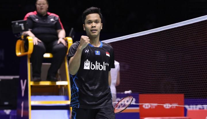 Foto Berita Menang 2 Gim Langsung, Ginting Juara China Terbuka 2018