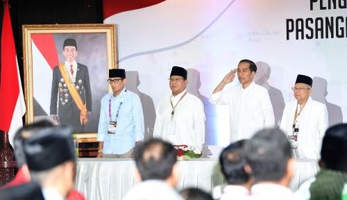 Foto TKN Jokowi-Ma'ruf Sindir Kubu Prabowo-Sandiaga Soal Pose Satu Jari