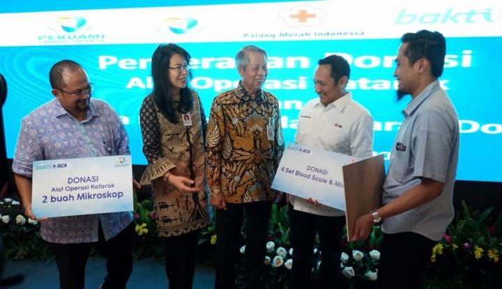 BCA Donasikan Rp1,3 Miliar untuk Alat Kesehatan - Warta Ekonomi