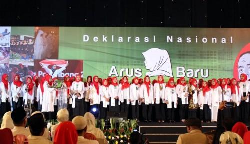 Foto Sejalan dengan Nawacita, The Power of Muslimah Dukung Jokowi-Ma'ruf
