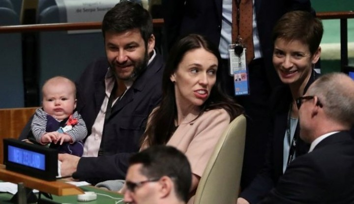 Foto Berita Mengintip Keseruan PM Selandia Baru dan Sang Buah Hati di Majelis Umum PBB