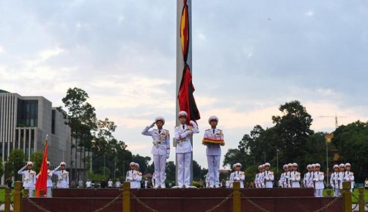 Foto Berita Vietnam Berikan Penghormatan Terakhir Kepada Mendiang Presiden Tran Dai Quang