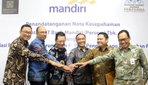 Foto Bank Mandiri Gandeng Himperra dan Perpesma Salurkan KPR FLPP