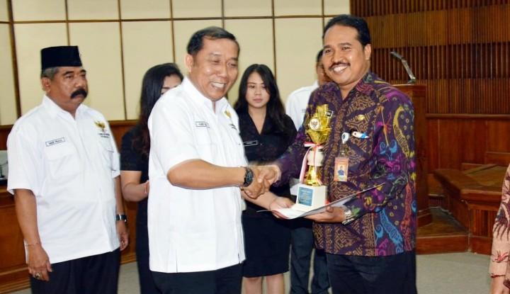 Foto Berita Tiga Kali Berturut, Denpasar Terbaik Keterbukaan Informasi Publik se-Bali