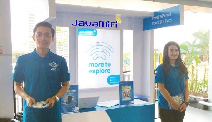 Foto Berita Perkuat Layanan untuk Wisatawan, JavaMifi Resmikan Gerai di Dua Bandara Internasional