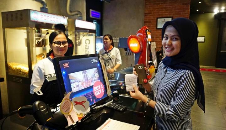 Permudah Transaksi Nontunai, TCASH Hadir di Bioskop Medan - Warta Ekonomi