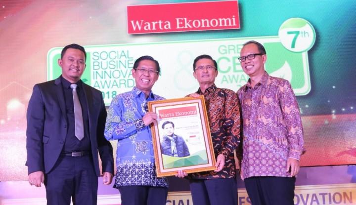 Foto Berita Daftar Pemimpin Peraih Warta Ekonomi Green CEO Award 2018