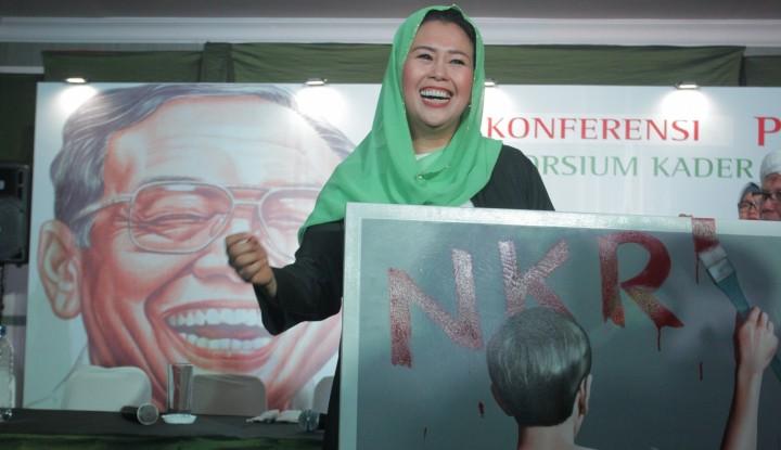 Foto Berita Yenny Wahid Prihatin Indonesia Gampang