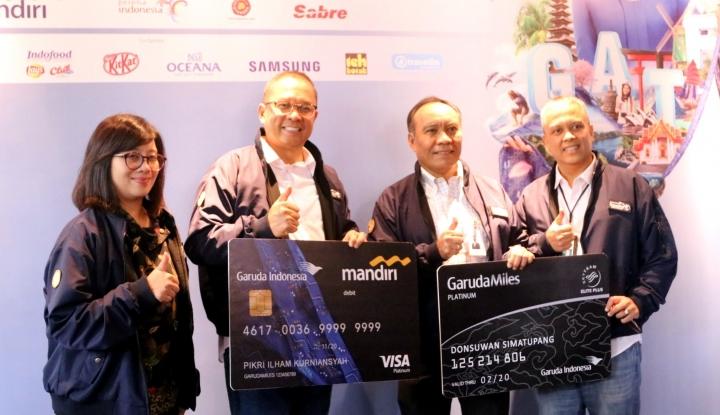 Foto Berita Garuda Indonesia Targetkan Total Penjualan Rp448 Miliar di GATF