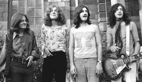 Foto Led Zeppelin Tandai Hari Jadi ke-50 dengan Rilis Album '50th Anniversary Interviews'