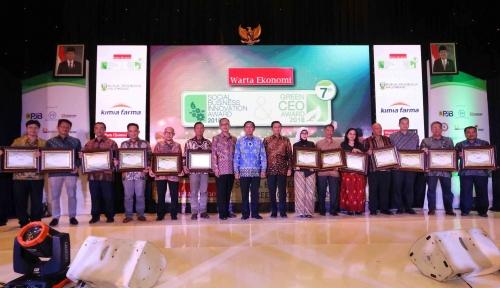 Foto Inilah Para Pemenang Indonesia Most Admired CEO 2018