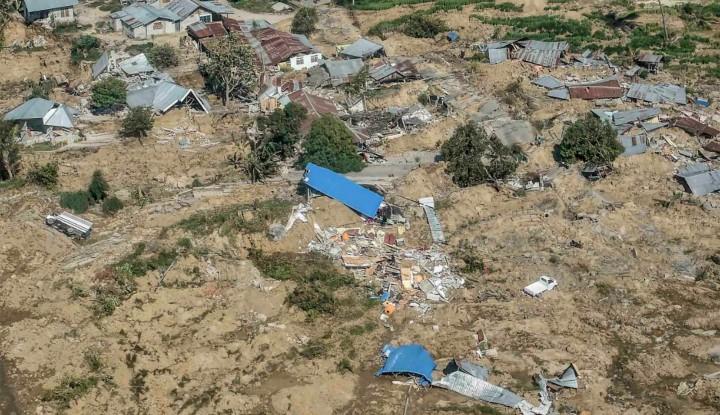 Foto Berita Hasil Citra Satelit, Bangunan Rusak di Sulteng Capai 5.147 Unit
