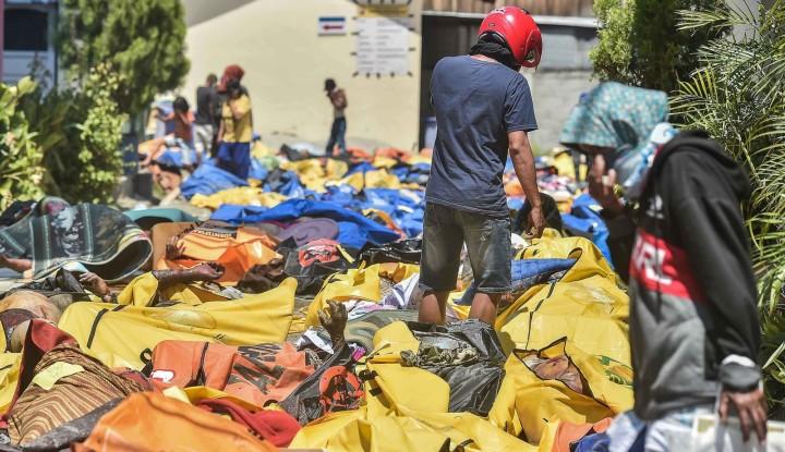 Foto Berita BNPB: 1.763 Korban Gempa dan Tsunami Sulteng Meninggal Dunia