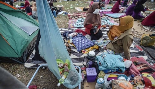 Foto Kemenkes: Korban Tsunami Palu Sudah Ditangani